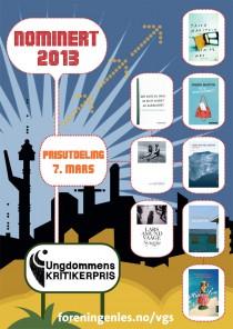 PLAKAT Nominerte  2013