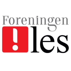 logo_!les_rød_KVADRATISK