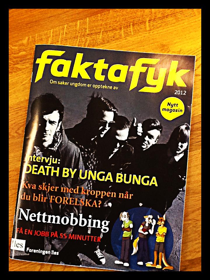 Her ser du sist nummer av Faktafyk. Det neste kommer i januar. Bestill nå!