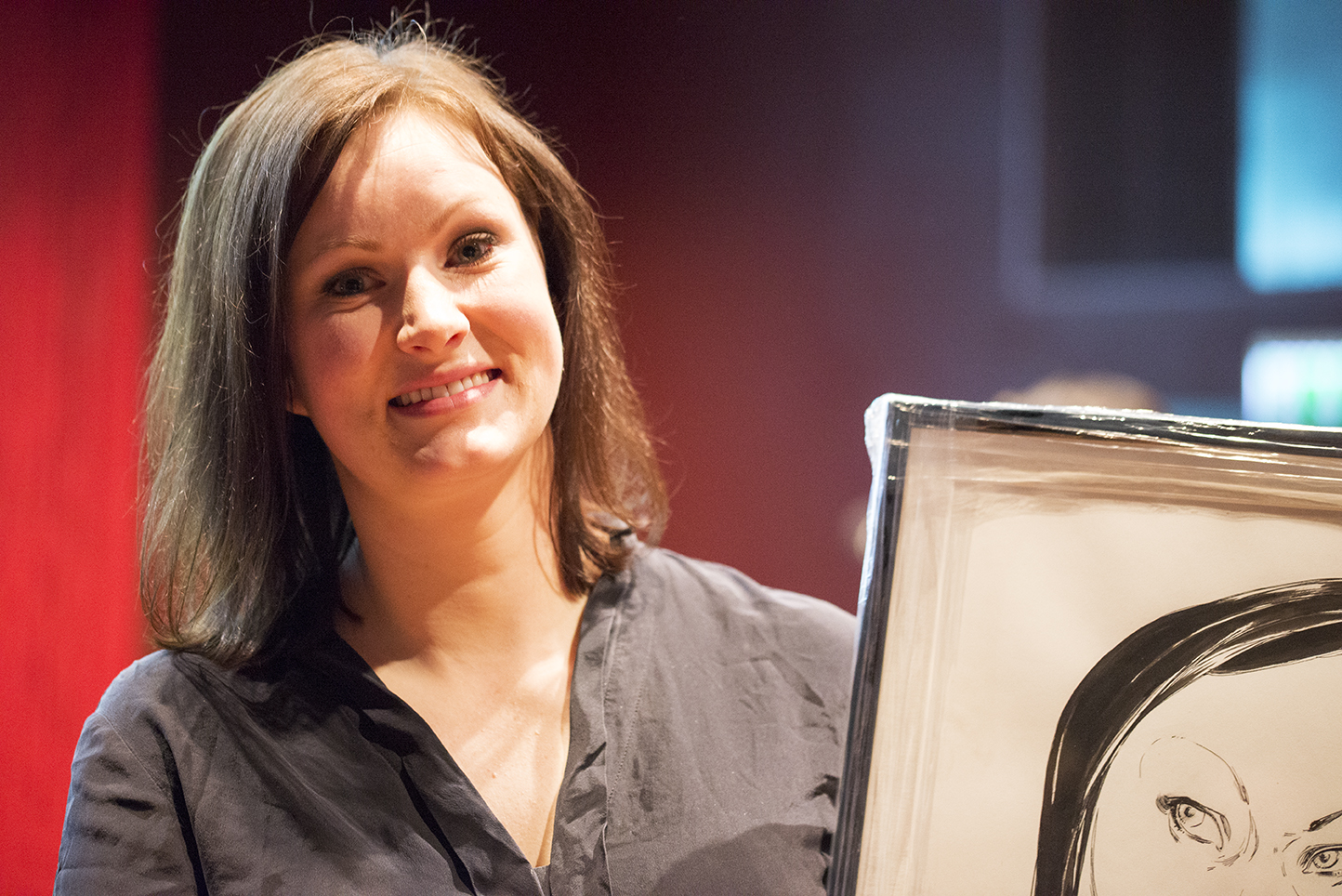 Vinner: Agnes Ravatn vant Ungdommens kritikerpris. Foto: Vibeke Røgler/Foreningen !les.