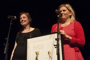 Marianne Kaurin og Ellen Fjestad mottar Uprisen 2013