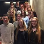 Storjuryen: Disse elevene utgjorde storjuryen i Ungdommens kritikerpris 2016. Torsdag 10. mars får vi vite hvilken bok de mener er best.